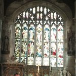 Holy Trinity boasts among the finest exemplars of stained glass.