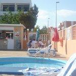 Small pool bar