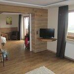 Beide Zimmerteile der Nature Suite