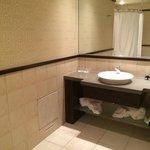 Cocooning room bathroom