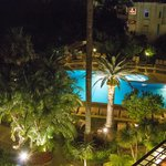 The Hotel Pool at Night