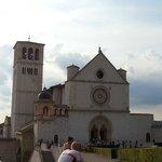 Facciata basilica san francesco