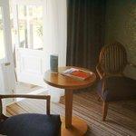 Room 105 sitting area
