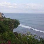 View from ocean front villa