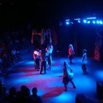 Theatre with traditional Turkish dancing