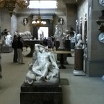 The sculpture room