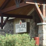 Entrance to the Fireside Grille