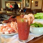 Bloody Mary bar @ Sunday Brunch!