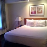 King suite bed - Room 131