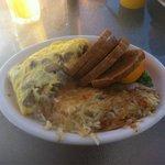 Copenhagen breakfast omelette