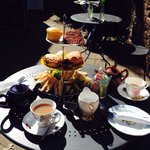 Lovely afternoon tea.