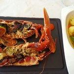 Fresh tasty lobster, it was incredible