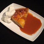 Homemade Peach Custard Pie