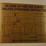 Emergency Exit Plan, 5th floor