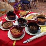 Our gorgeous selection of tapas!