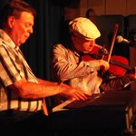 Dougie MacPhee, piano, and Dwayne Cote, fiddle