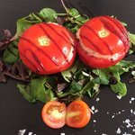 Тунец в помидорах