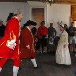 18th century dancing demonstration