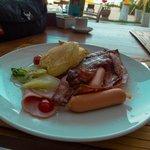 Deva Resort & Spa Koh Samui的早餐