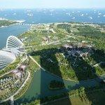 Skybar Marina Bay Sands hotel uitzicht