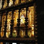 Nichos internos para la Virgen