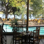 Dining Area with view of Chobe River