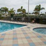 piscina do hotel