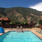 View from outdoor pool!
