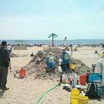 Concours de château de sable ;)