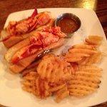 Downwind Café's lobster roll - amazing!!
