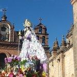 San Sebastian outside the Cathedral