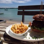the juicy Lucy with a perfect seaview!❤️