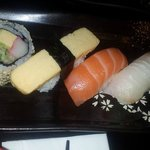 Close up of the Sushi