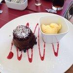 Volcan de Chocolate !!