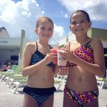 Cold Drinks Poolside!