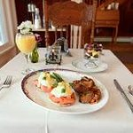 Eggs Benedict with Smoked Salmon and Baby Spinach