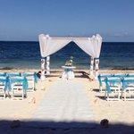 Wedding set up by Dreams staffers