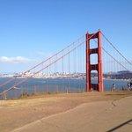 North end of Golden Gate Bridge near Battery Spenser