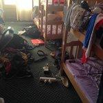 Mixed dorm with ten beds.
