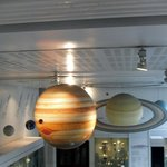 Solar system at the Manchester Museum