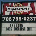 Paparonni's Pizza