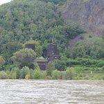 looking across the Rhine