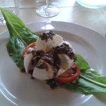 Mozzarella di bufala e tartufo