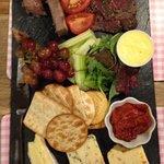 Ploughman's platter
