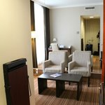 Room 102, sitting room, executive room with balcony