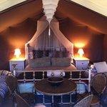 Stunning safari tent