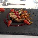 Foie gras kleurrijk en vooral heerlijk lekker