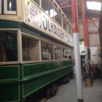 Dublin city tram