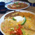 Seafood burrito & Jimador burrito....YUMMM