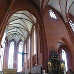 Inside the cathedrale